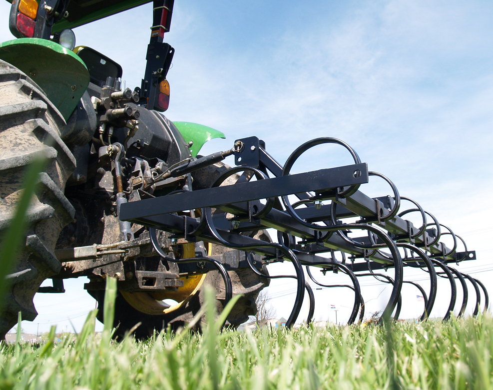 Field Cultivator with 13 S-tine sweeps