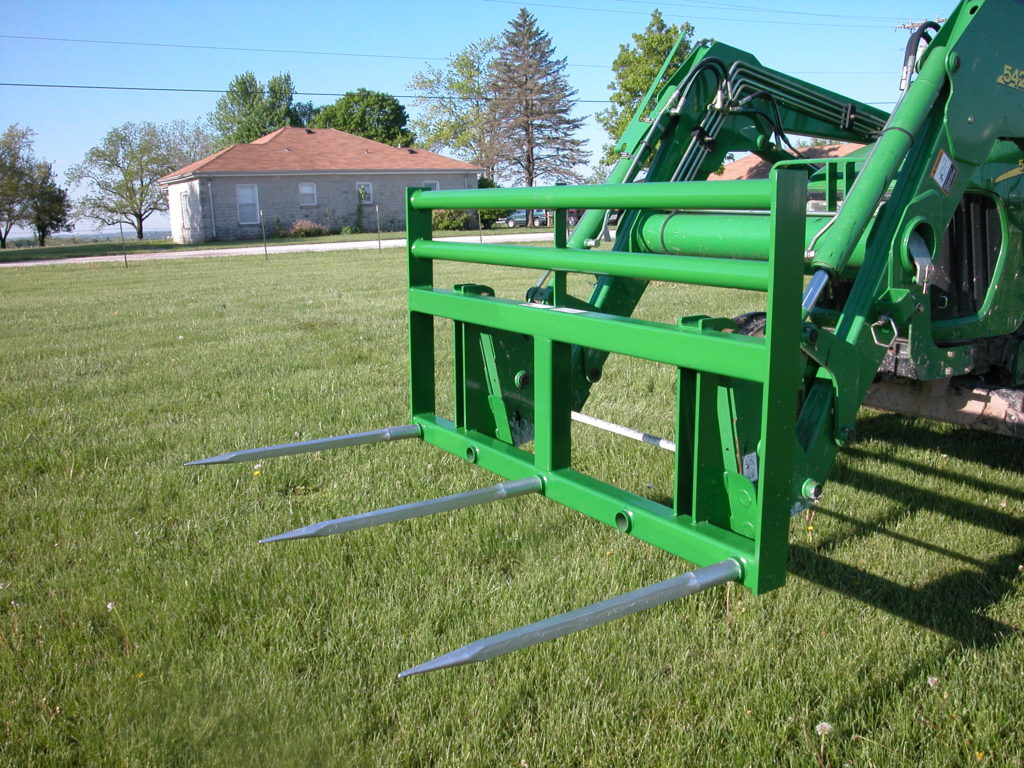 JD 400/500 Series Quick Attach Double Front Loader